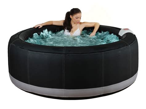 spa gonflable 4 personnes bcool iii 130 jets air noir
