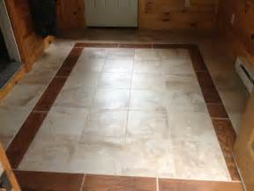 mud room floor wood tile border for the home