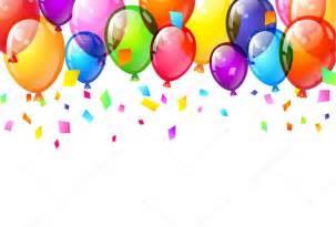 clipart compleanno colore lucido buon compleanno palloncini vettoriali