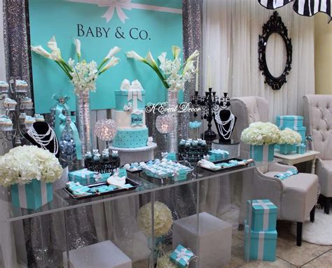Decorating Ideas For Baby Shower Gift Table by Baby And Co Baby Shower Dessert Table Ideas Baby Shower