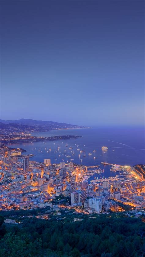 monaco city sunset view iphone wallpaper iphone wallpapers