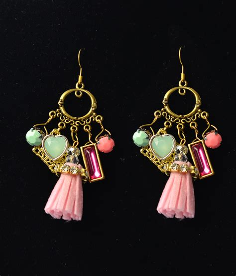 Chandelier Earring Designs by Easy Earring Designs How To Make A Pair Of Vintage Style