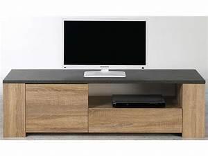 Meuble Tv Banc : banc tv fumay vente de meuble tv conforama ~ Teatrodelosmanantiales.com Idées de Décoration