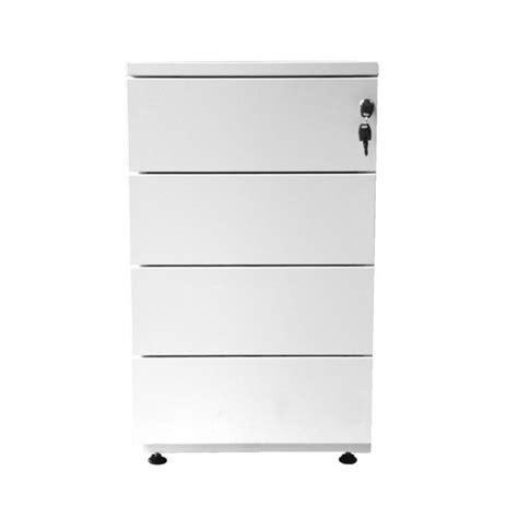 tiroirs bureau caisson en métal à hauteur de bureau grande profondeur 4