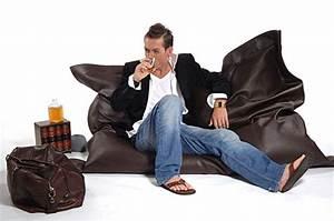 Sitzsack Aus Leder : lounge kissen sitzsack sitzkissen sitzs cke rattan gartenm bel ~ Sanjose-hotels-ca.com Haus und Dekorationen