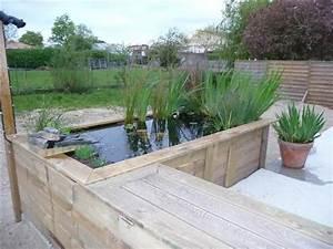 Bassin De Terrasse : un projet en bout de terrasse do it yourself jardin ~ Premium-room.com Idées de Décoration