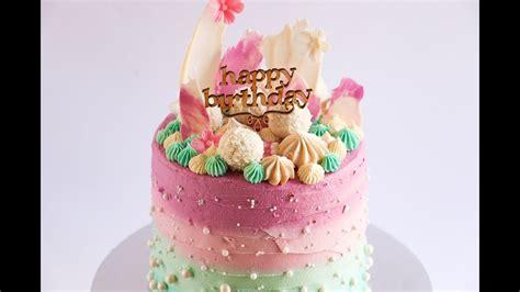loaded extra tall cake tutorial rosies dessert spot