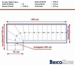 Calcul Escalier Quart Tournant : calcul dun escalier quart tournant bas ~ Dailycaller-alerts.com Idées de Décoration