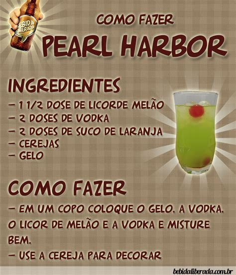 pearl harbor drink pearl harbour recipe