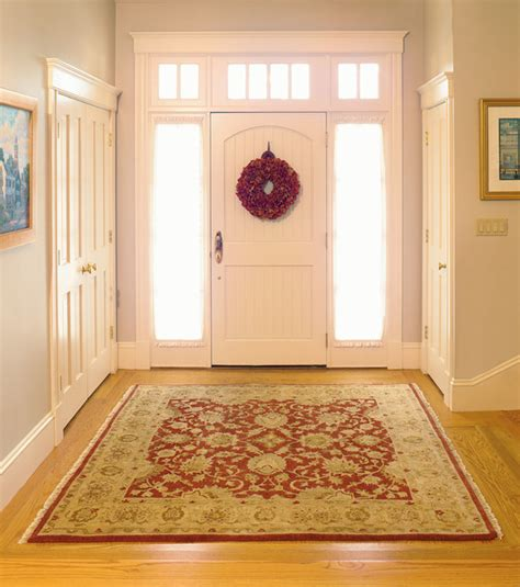 Most Popular Living Room Colors 2014 by Oriental Rug For An Elegant Foyer Traditional Entry