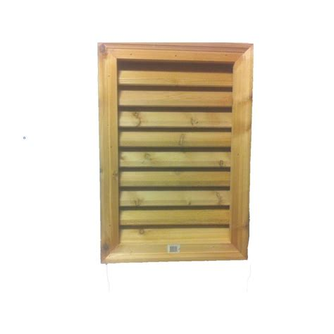 cedar gable vents new rectangular louver vent durable gable western 2031
