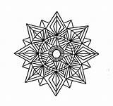 Geometric Coloring Pages Shapes Printable Mandala Tattoo Pattern Designs Shape Patterns Drawing Sheets Colouring Geometry Incredible Adult Printables Mandalas Tattoos sketch template