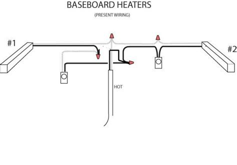 baseboard heater wiring electrical diy chatroom home improvement forum