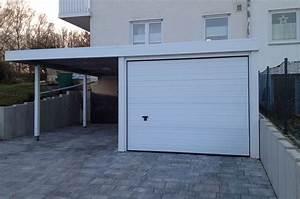 Garage Carport Kombination : garagen carport kombination myport ~ Markanthonyermac.com Haus und Dekorationen