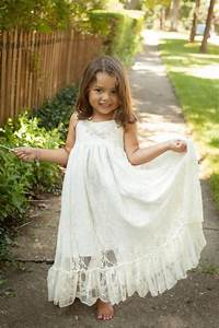 girls maxi dress lace flower girl dress rustic wedding With destination wedding flower girl dress