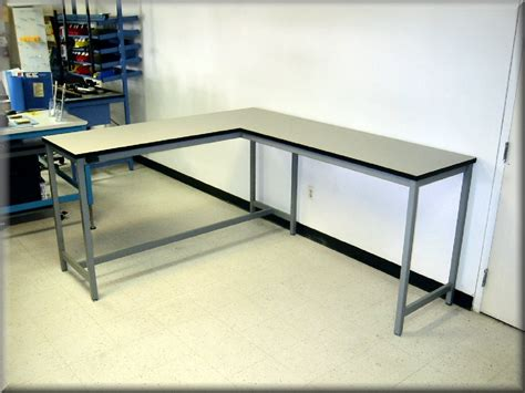 square table l shades l shaped tables at rdm industrial products
