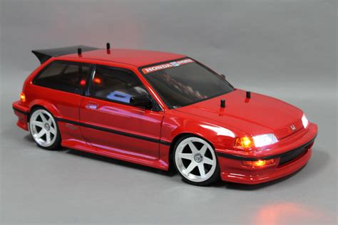 si鑒e auto rc 2 custom tamiya 1 10 rc car honda civic si v tec ready to run ebay