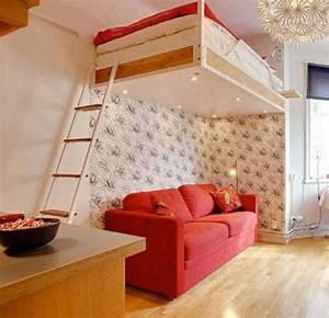 Hochbett Mit Sofa : das hochbett ein traumbett f r kinder und erwachsene ~ Watch28wear.com Haus und Dekorationen