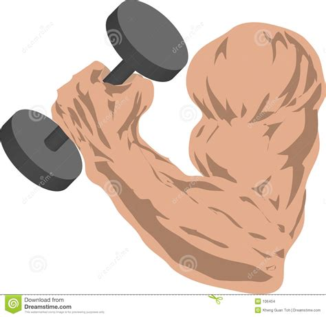 strong arm stock illustration illustration  grasp