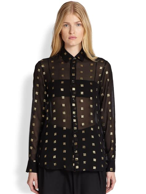 black and gold blouse black and gold blouse trendy clothes