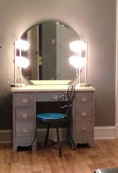 diymakeupvanity refinish  desk  lamps  wal mart