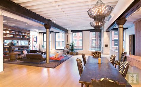 square foot loft  tribeca homes   rich