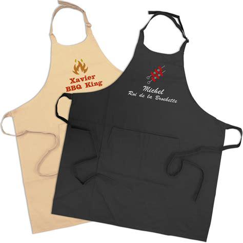 torchon cuisine original tablier barbecue personnalisé amikado