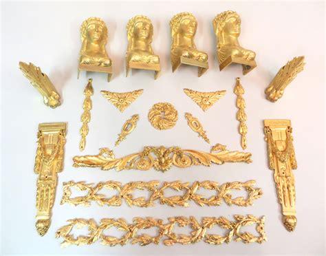 feuervergoldete moebelbeschlaege antike lampen und leuchten