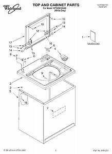 Whirlpool Wtw5810sw0 Washer Parts And Accessories At