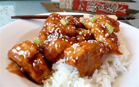 cuisiner facile recette poulet général tao facile pas chère et facile