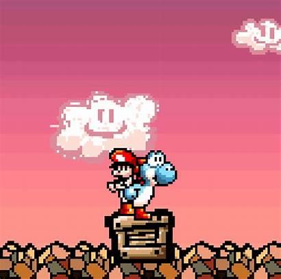 Games Gifs Yoshi Money Nintendo Island Mario