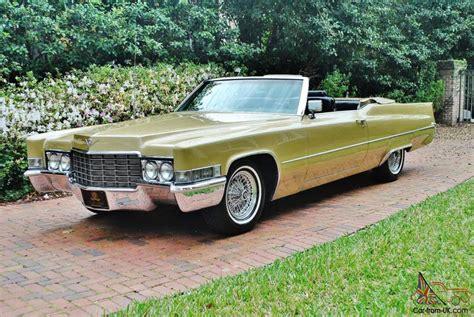 Amazing Cadillac Deville Convertible Cold Drive