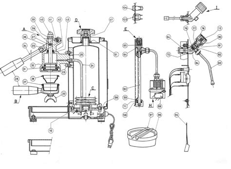 Espresso Maker Schematic by Cremina Espresso Machine Search Portafilters