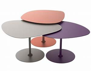 Table Gigogne Design : merveilleux table basse gigogne design 7 tables gigognes 3 galets outdoor set de 3 cuivre ~ Teatrodelosmanantiales.com Idées de Décoration