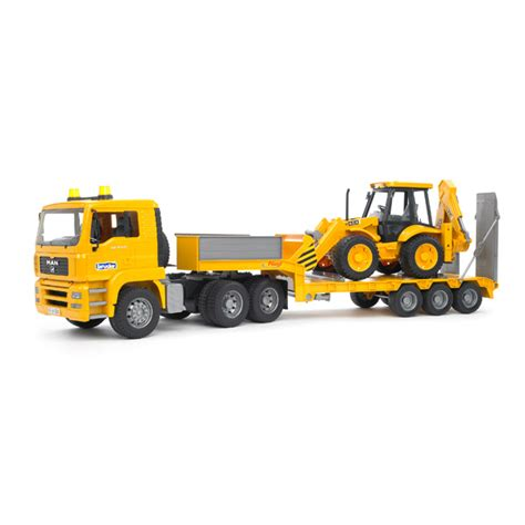 siege chronopost camion de transport tractopelle jcb 4cx bruder