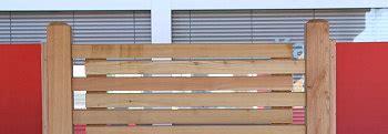 Sichtschutz Garten Ulm by Gropper Holz Im Garten