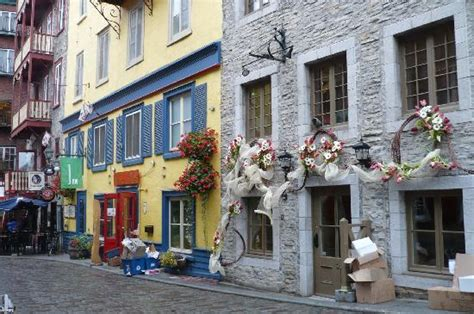 streets   quebec city today picture  quebec