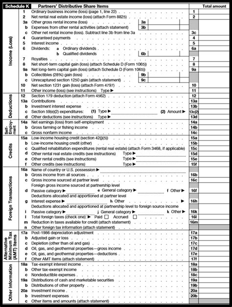 irs form for llc 1065 how to complete form 1065 with instructions
