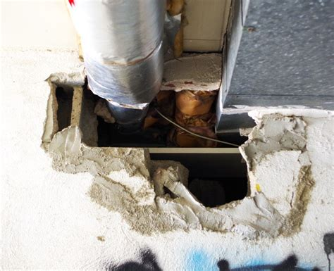 How To Fix A Big Hole In A Cement Wall  Plaster & Disaster