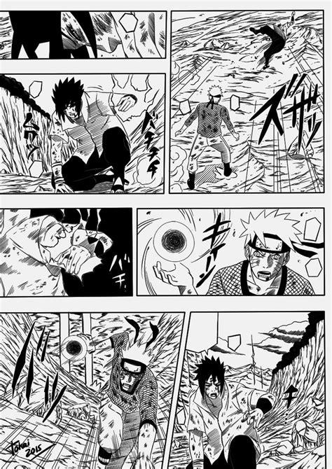naruto  sasuke manga panel  tokai  deviantart