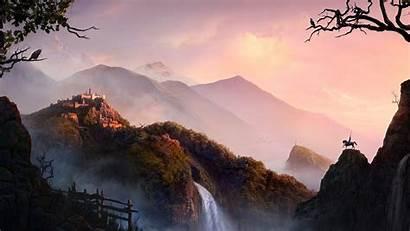 Cg Wallpapers Landscape Fantasy Mobile Tablet 1080