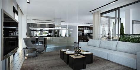 gorgeous sleek digital interior  ando studio