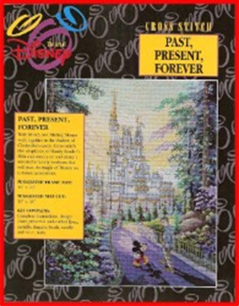 disney cross stitch kit present cinderella castle