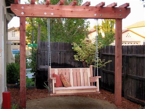 Diy Outdoor Swings  Style Motivation