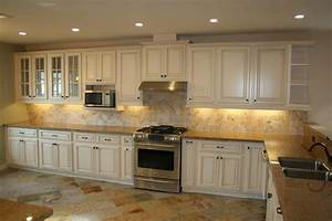 antique white kitchen cabinets home design traditional With kitchen colors with white cabinets with antique white candle holders