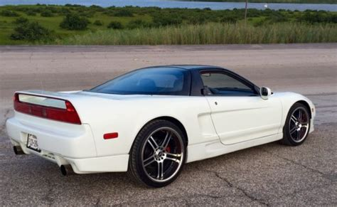 acura nsx coupe 1992 white for sale jh4na1154nt000882