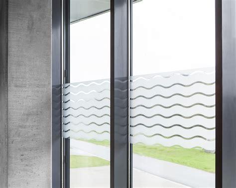 Statische Fensterfolie Wave In 45cm Breite Milchglasfolie