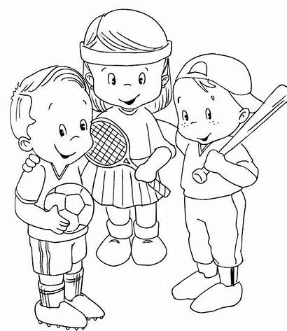 Coloring Sports Pages Themed Printable March Getcolorings