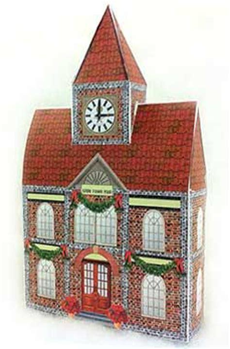 pin  barbara  printable houses christmas village
