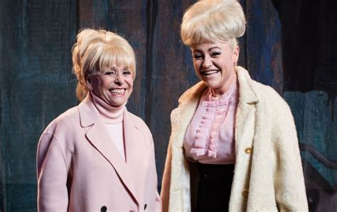 Dame Barbara Windsor tells Jaime Winstone 'you're more me ...